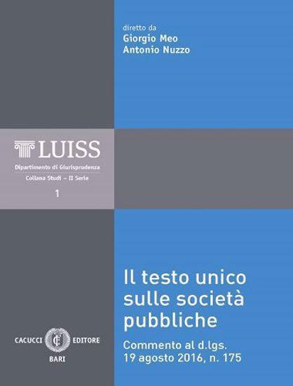 Immagine di 01 - Il Testo Unico sulle società pubbliche