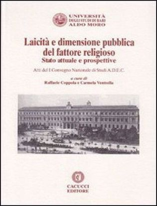 Immagine di 01 - Laicità e dimensione pubblica del fattore religioso Stato attuale e prospettive