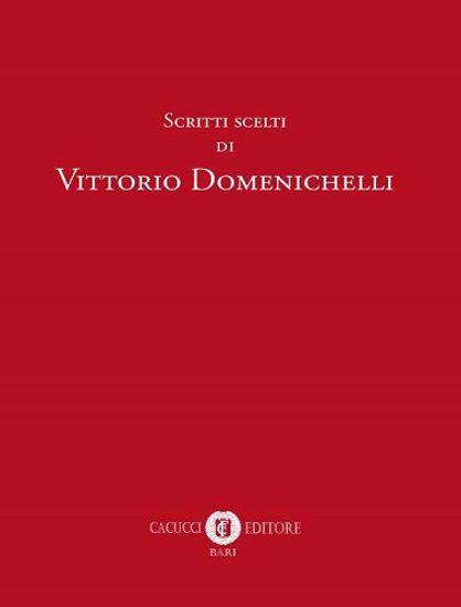 Immagine di Scritti scelti di Vittorio Domenichelli