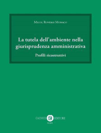 Immagine di La tutela dell`ambiente nella giurisprudenza amministrativa. Profili ricostruttivi