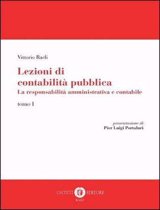 Immagine di Lezioni di contabilità pubblica