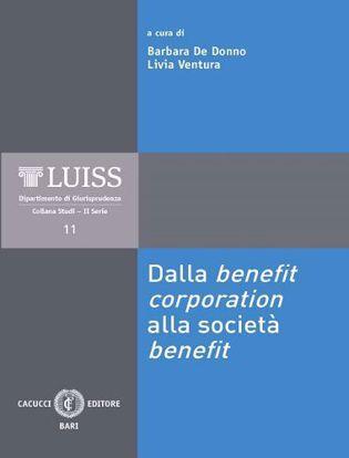Immagine di 11 - Dalla benefit corporation alla società benefit