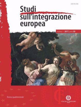 Immagine di Studi sull'integrazione europea - Anno XII, n.1