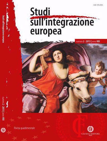 Immagine di Studi sull' integrazione europea - Anno  VIII, n.2