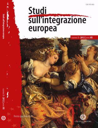 Immagine di Studi sull' integrazione europea - Anno  VII, n.1