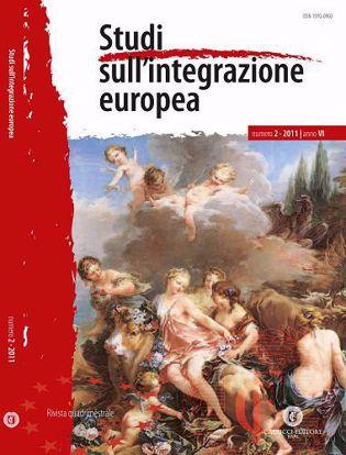 Immagine di Studi sull' integrazione europea - Anno  VI, n.2