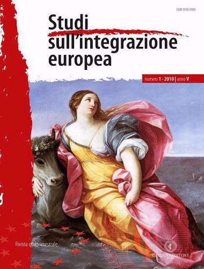 Immagine di Studi sull' integrazione europea - Anno  V, n.1