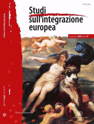Immagine di Studi sull' integrazione europea - Anno  IV, n.2