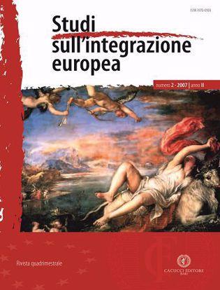 Immagine di Studi sull' integrazione europea - Anno  II, n.2