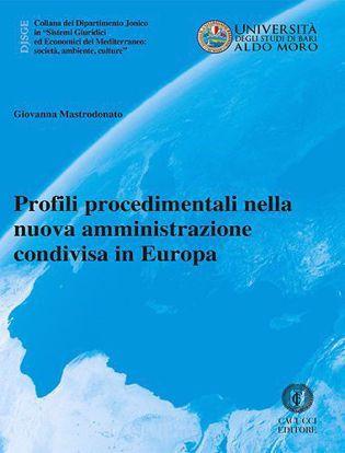 Immagine di 28 - Profili procedimentali nella nuova amministrazione condivisa in Europa