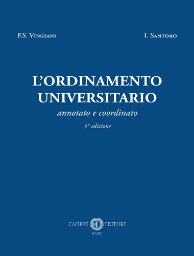 L'Ordinamento Universitario