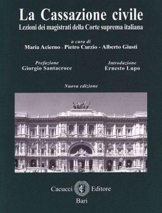 Immagine di La Cassazione civile. Lezioni dei magistrati della Corte suprema italiana