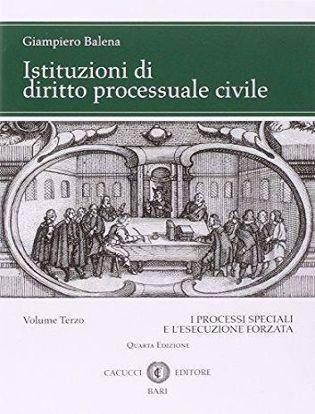 Immagine di Istituzioni di diritto processuale civile. Volume III