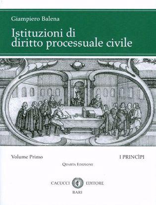 Immagine di Istituzioni di diritto processuale civile. Volume I