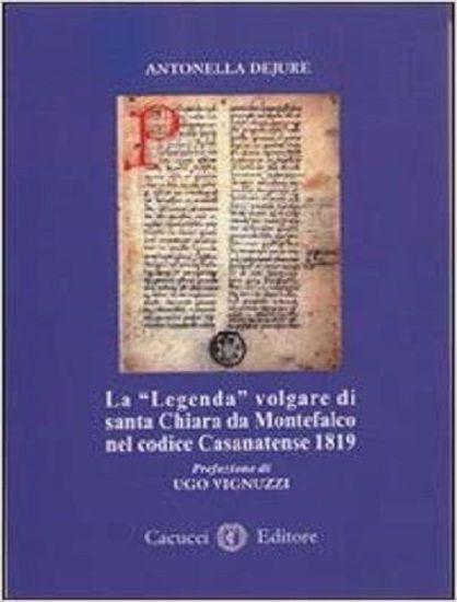 """Immagine di 01) La """"Legenda"""" volgare di santa Chiara da Montefalco nel codice Casanatense 181"""