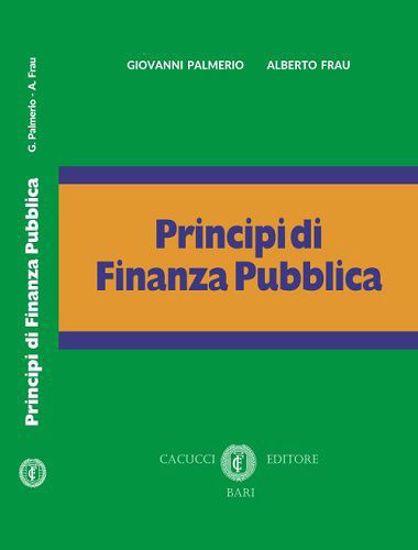 Immagine di Principi di Finanza Pubblica