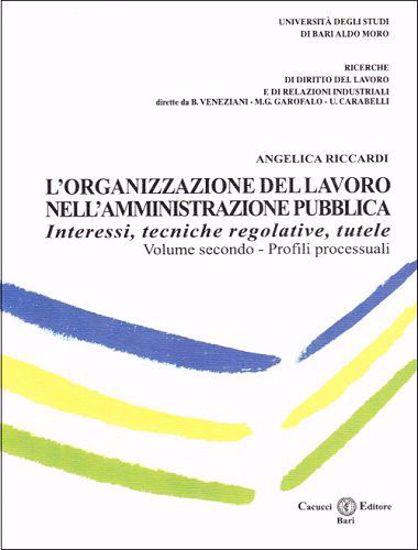 Immagine di L`organizzazione del lavoro nell`amministrazione pubblica