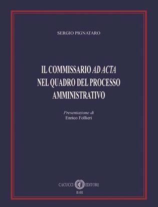 Immagine di Il commissario ad acta nel quadro del processo amministrativo