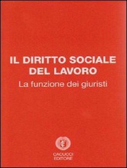 Immagine di Il diritto sociale del lavoro