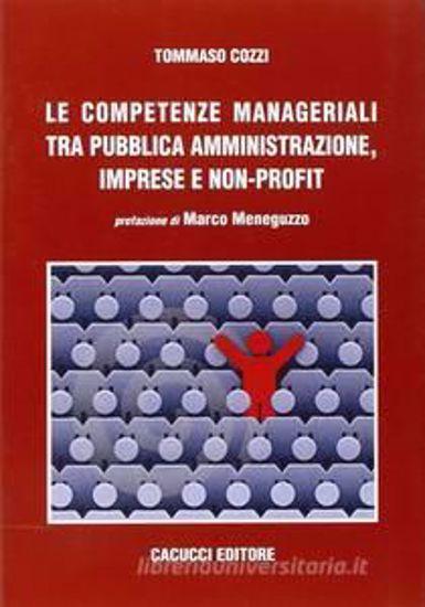 Immagine di Le competenze manageriali tra pubblica amministrazione, imprese e non profit
