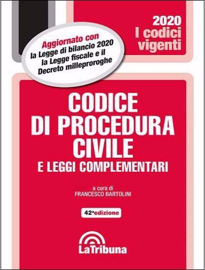 Immagine di Codice di procedura civile e leggi complementari