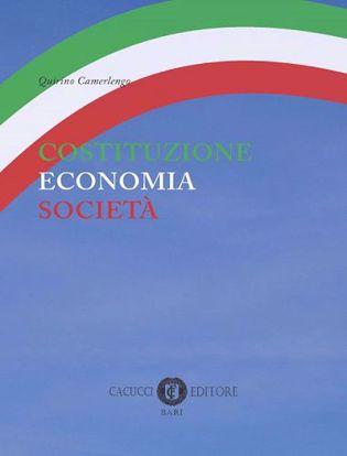 Immagine di Costituzione economia società