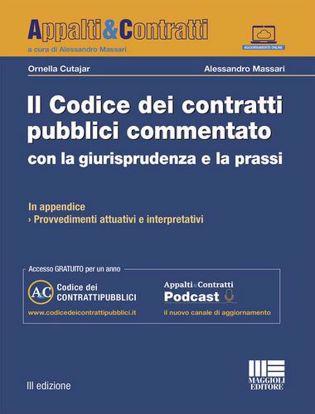 Immagine di Il codice dei contratti pubblici commentato con la giurisprudenza e la prassi. Con aggiornamento online