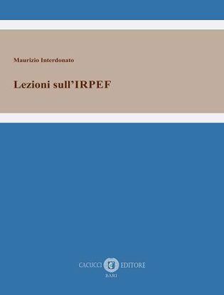 Immagine di Lezioni sull'IRPEF