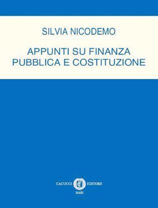 Immagine di Appunti su finanza pubblica e Costituzione