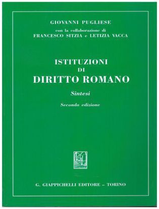 Immagine di Istituzioni di diritto romano