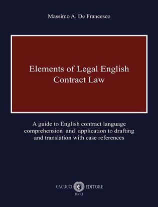 Immagine di Elements of Legal English - Contract Law