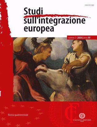 Immagine di Studi sull'integrazione europea - Anno XV, n.3- settembre/dicembre 2020