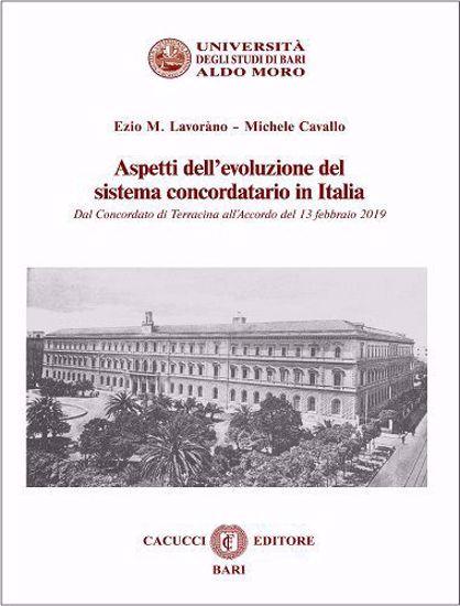 Immagine di 9 - Aspetti dell'evoluzione del  sistema concordatario in Italia