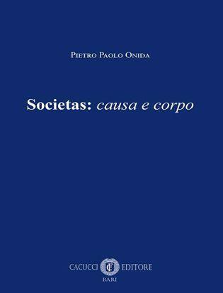 Immagine di Societas: causa e corpo